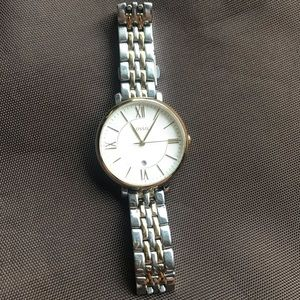 Women's Fossil Watch - silver/gold 2 tone